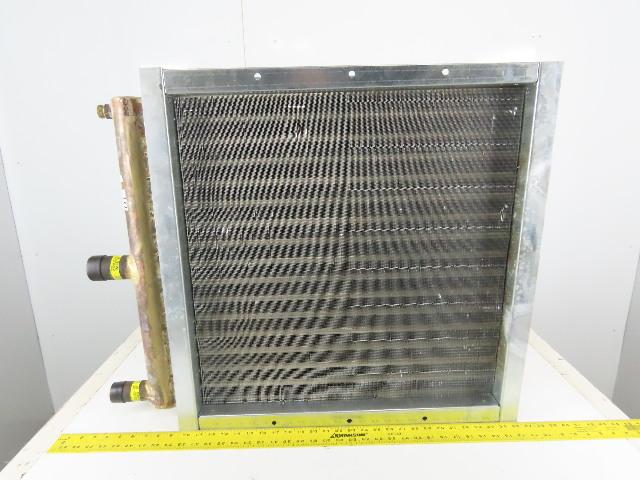 """Heatcraft 5GA1202B024.00X024.00 Hi-F 24"""" x 24"""" Fin Steam Hot Water Coil"""