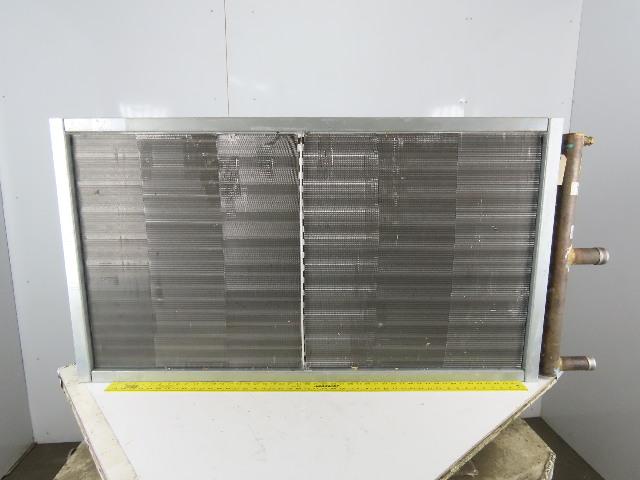 """Heatcraft 5GA1401C027.00X051.00 Hi-F 27"""" x 51"""" Fin Steam Hot Water Coil"""