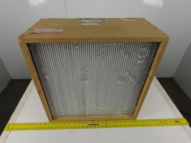 "AAF 42A74J1T2A5 HEPA Air Filter 23-3/8"" x 23-3/8"" x 11-1/2"" High Efficiency"