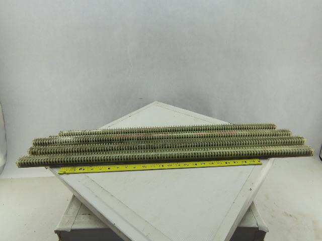 Allen Bradley 1492-F DIN Rail Mount Terminal Block On 4 DIN Rail Lot of 410