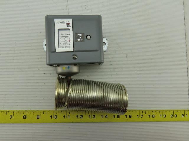Johnson Controls A70HA-1C 15/55°F 2 Single Pole Manual Reset Temperature Control