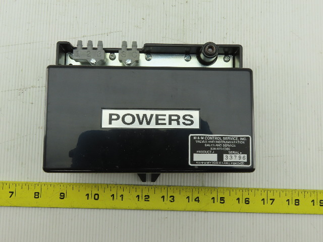 Siemens 195-0001 Powers RC 195 Receiver-Controller