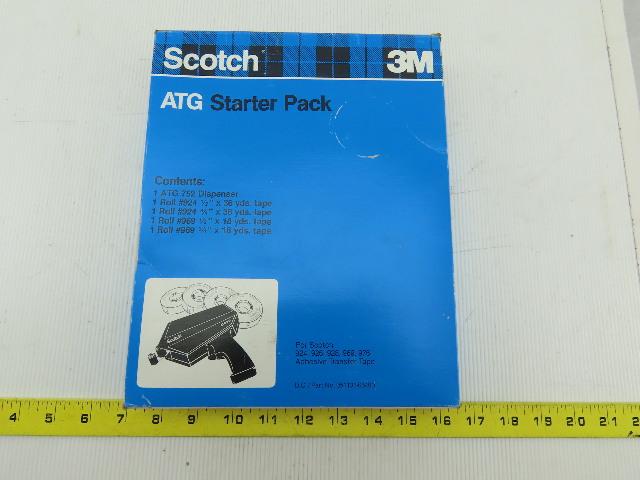 Scotch 3M ATG 752 Adhesive Transfer Applicator Gun And Tape Starter Pack