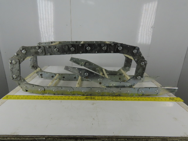 """Gortrac 9-1/2"""" x 1-1/4"""" Cable Carrier Drag Chain Energy Chain 112"""""""
