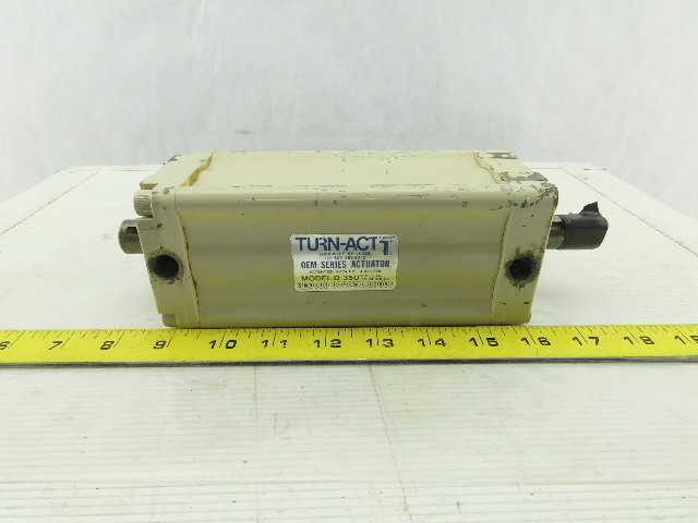 "Turn Act D-350 90° Turn 350In/Lbs. Torque Pneumatic Rotary Actuator 3/4"" Shaft"