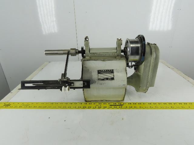 "Leesona Model 950 Textile Paper Spool Winding Take Up Head 6"" Traverse"