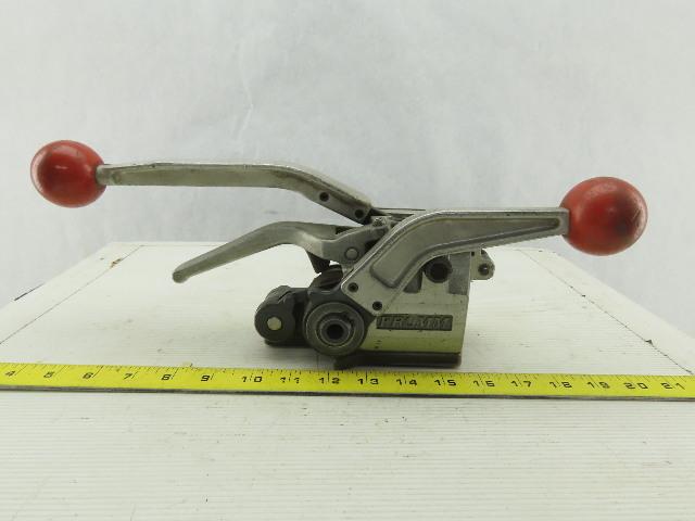 """Fromm 5/8"""" Banding Strap Manual Ratchet Tensioner Crimper 30Nm"""