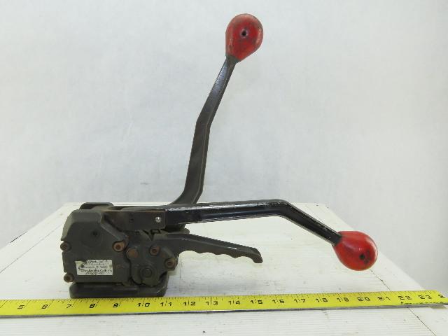 """Signode Banding Strap Manual Ratchet Tensioner Crimper 5/8""""-3/4"""""""