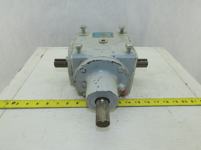 Von Ruden 45347 Model 45 2:1 Ratio Dual Right Angle Output Winch Gear Reducer
