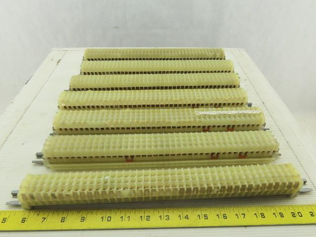 Square D 9080 Type GR6 Ser B Terminal Block 8-22 AWG 600V DIN Rail Lot of 280