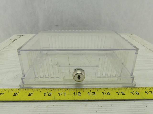 "Marley Electric No.TC1 Clear Thermostat Guard Enclosure 4.28""Hx7""Lx2.75D"" W/Lock"