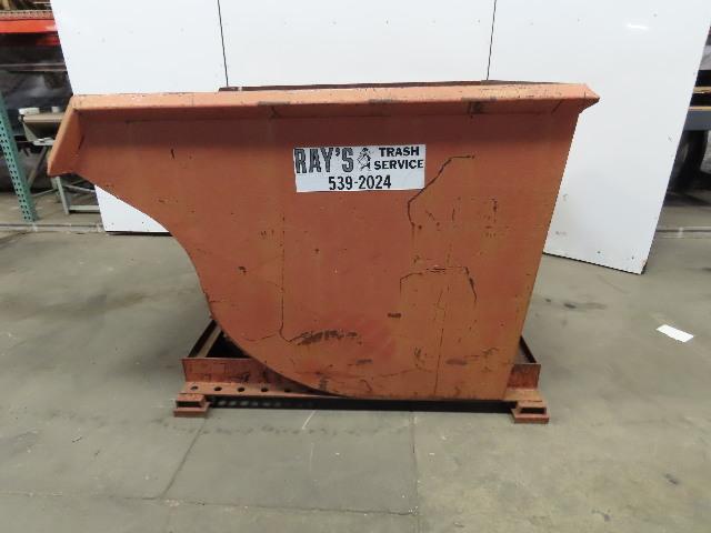 Heavy Duty 2 Yard 6000# Self Dumping Trash Hopper