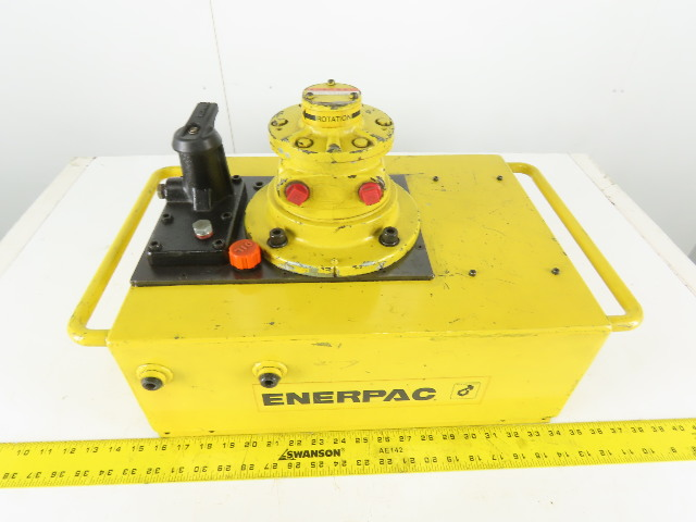 Enerpac PAM9220N Air/Hydraulic Pump 2 Gal For Single Acting Cylinders 10,000 PSI