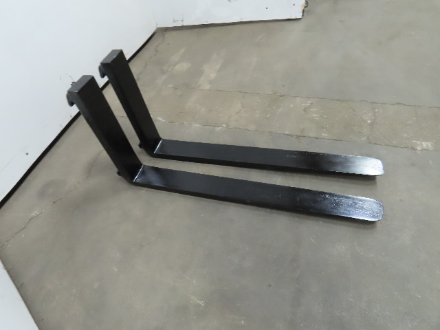 "Forklift Forks 4""x42"" Class 2 Cam Latch Style 1 Pair"