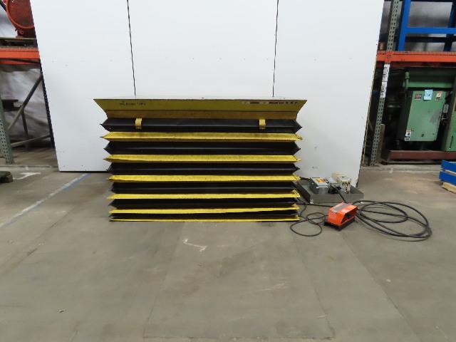 "American Lifts 4000lb Hydraulic Scissor Lift Table 71x48"" Top 8-44"" Ht 230/460V"