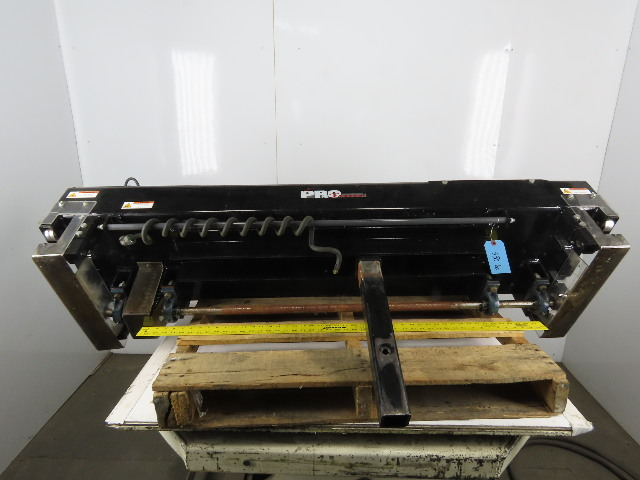 Enersys Pro Series Forklift Battery Bull Grabber Draw Bar From Automated Washer
