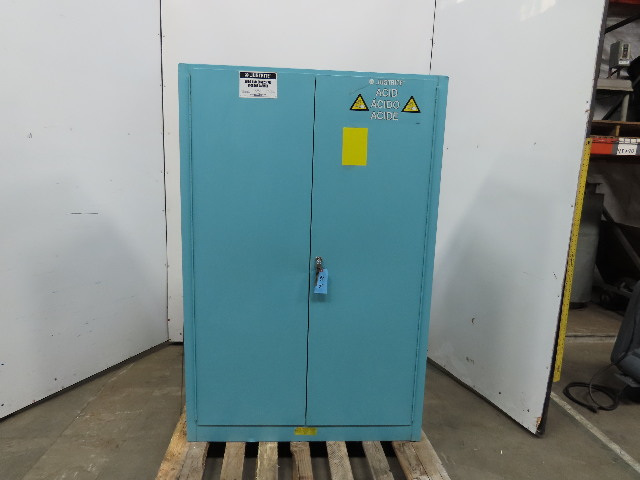 JustRite Acids & Corrosives Liquid Storage Cabinet 45 Gallon