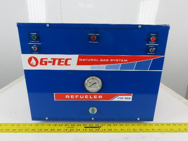 G-Tec GT026-3 FM100 Natural Gas Systems Compressor/Refueler