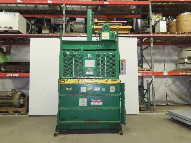 "Load King 10 HP Vertical Cardboard Baler Compactor Recycler 60""x30""x42"" 230V 3Ph"