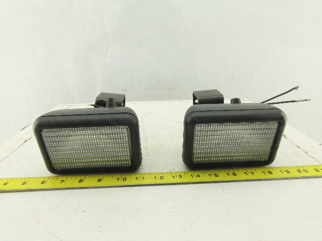 Speaker 36V Incandescent Forklift Order Picker Task Light Lot Of 2