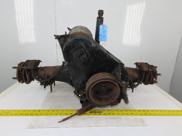 Taylor Dunn 36V 2.2Hp Personnel Cart Rear Differential Motor And Brake Assembly