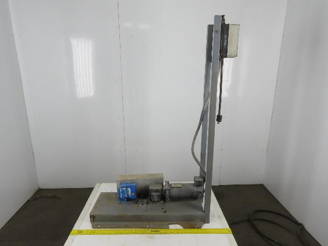 Randolph Model 610 90VDC 1/2Hp Motor Driven Peristaltic Pump W/ Speed Drive