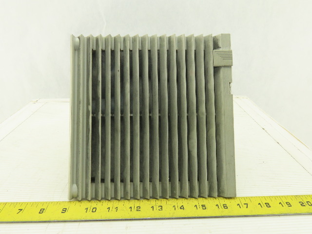 """Rittal 3323-107 Type 12 Fan and Filter 8"""" X 8"""" 230V 1Ph"""