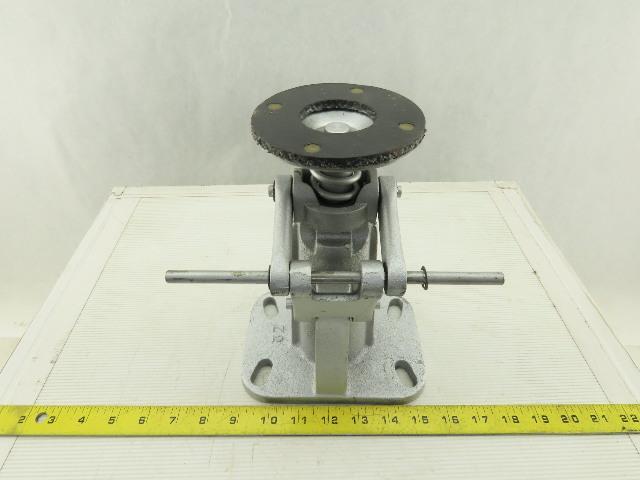 "Heavy Cast Iron Cart Foot Floor Lock Brake 9"" To 11"""