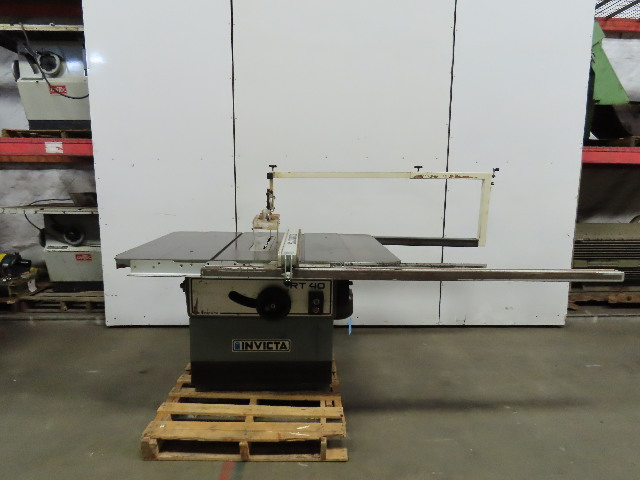 """Invicta Delta RT40 14"""" To 16"""" Table Saw 7.5 Hp 230/460V 3 Phase W/Rip Fence"""