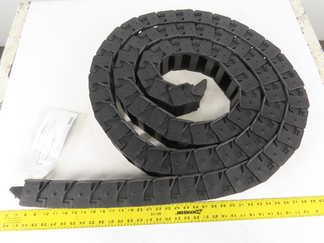 """Gleason 252P-1 2-1/2"""" x 1-3/4"""" Energy Drag Chain Cable Hose Carrier 176"""" W/Ends"""