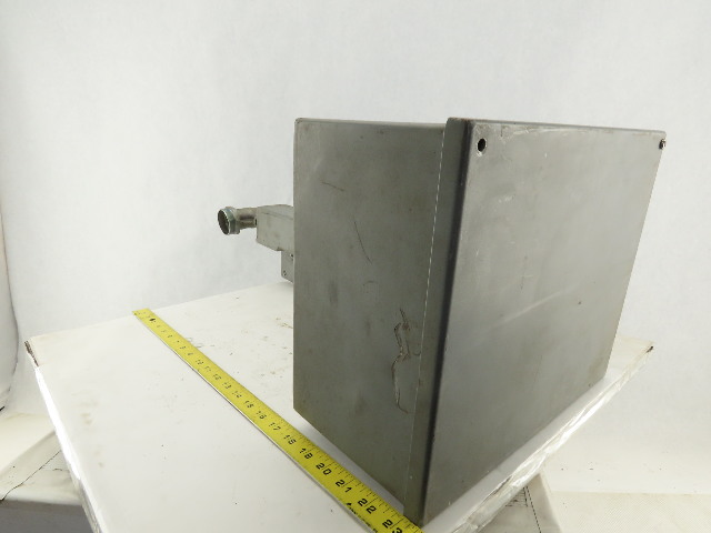 """Hoffman 10x12x6"""" Electrical Enclosure Machine Control With Stand"""