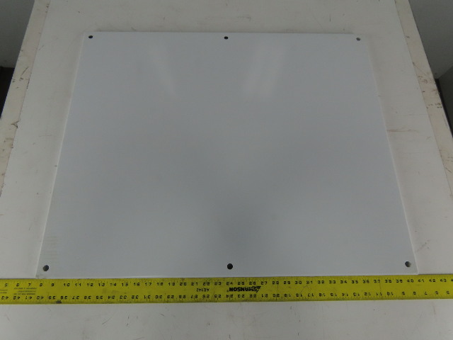 """Hoffman A36P30 36""""X30"""" Electric Enclosure (33""""x27""""), White Sub Panel Back Plate"""