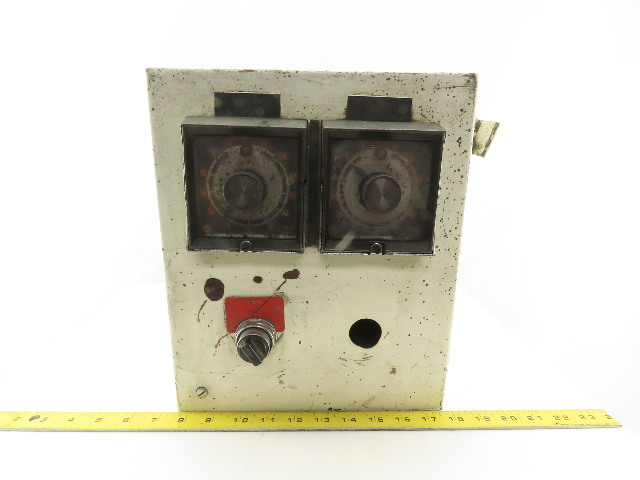 "Hoffman 12 X 10 X 8"" Type 12 Electrical Enclosure J-Box W/ Timers"
