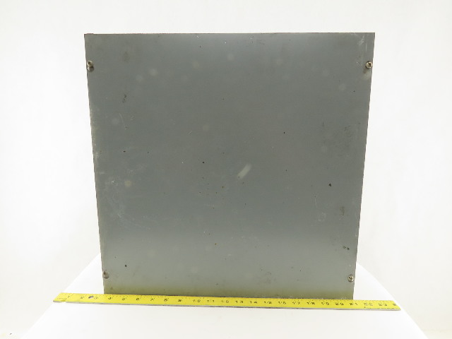 """Hoffman ASE18X18X6 18"""" x 18"""" x 6"""" Screw Cover Electrical Pull Junction Box"""