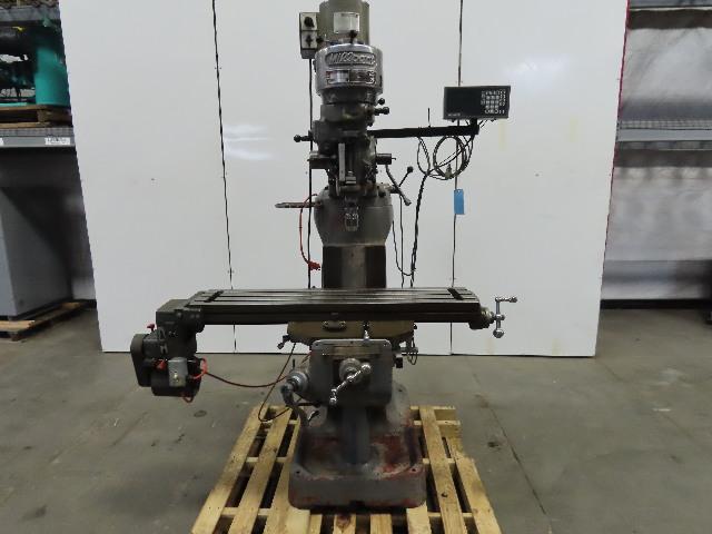 "Millport Model 2s 2Hp 230V 3Ph 9"" 42"" Multi Speed Knee Milling Machine 2Axis DRO"
