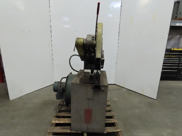"Everett 14-16 Abrasive Metal Cut-Off Chop Saw 16"" W/Exhaust Blower 230/460V 3Ph"