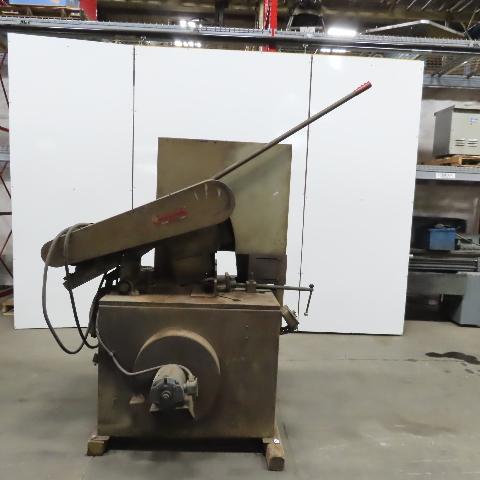 "Everett Model 26 20HP 26"" Abrasive Cut-Off Chop Saw 208-220/440V 3Ph"