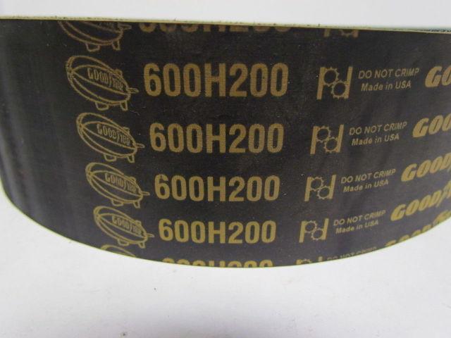 D/&D PowerDrive 600H200 Timing Belt