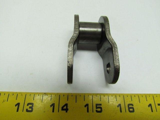 "Morse 127802 ANSI 100 Roller Chain Offset Link O//L Pitch 1.250/"" Single Strand"