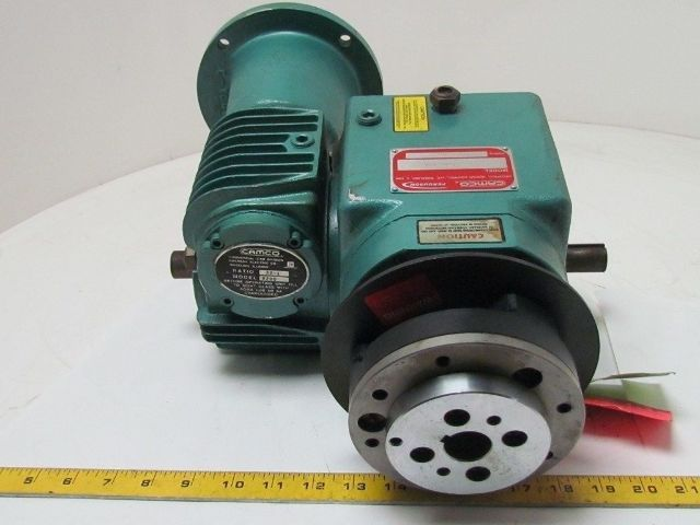 Camco 400ra 400ra12h120 180 Index Drive Indexer W 30 1 R200 Gear Speed Reducer Bullseye Industrial Sales