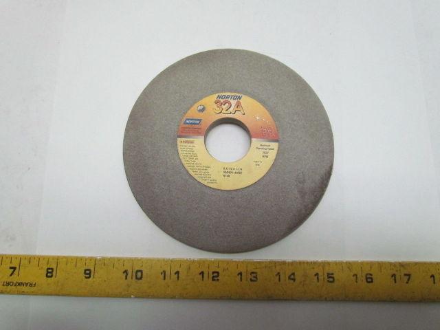GW013-A-3 Norton 6x1//2x1-1//4 32A60-I8-VBE Gray Grinding Wheels 3 Pc