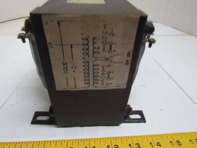 Hevi-Duty Electric 1231050TOO 1 PH 1 KVA Transformer 220 ...