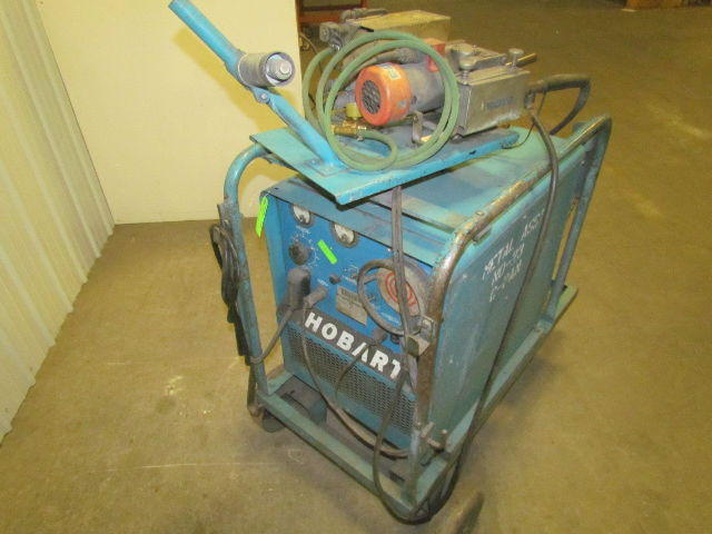 Hobart Rc250 250 Amp 3ph Dc Wire Feed Welder W  Cart Cables