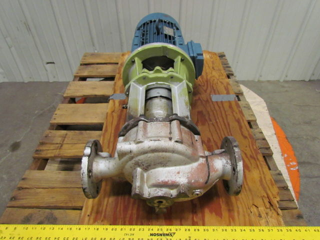 Used Welders For Sale >> ALLWEILER NIT 40-160/150 10 HP Volute Centrifugal Pump ...