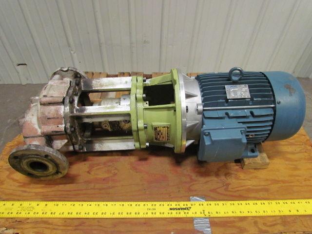 ALLWEILER NIT 40-160/150 10 HP Volute Centrifugal Pump 220V