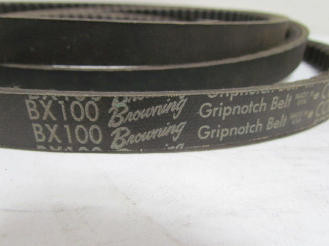 D/&D PowerDrive 2//BX100 Cogged Banded V Belt