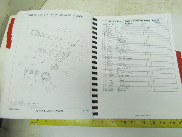 Heavy Equipment Parts & Accessories POWER CURBERS INC 5700-B