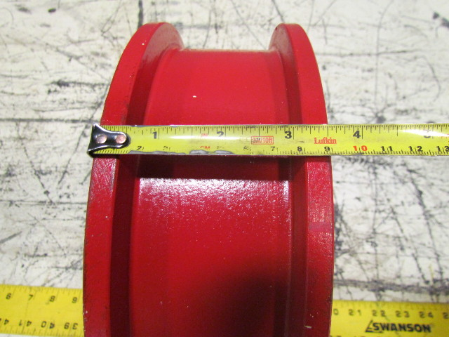 """Used Welders For Sale >> 10""""X2-1/2"""" Ductile Steel Double Flange Track Wheel Caster ..."""