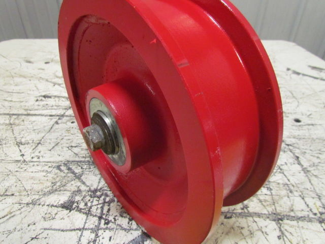 "Air Compressor Replacement Parts >> 10""X2-1/2"" Ductile Steel Double Flange Track Wheel Caster ..."