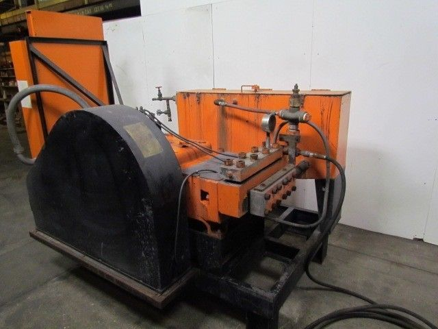Details about NLB Corp 8200E-1-3/8 200HP 8000 PSI UHP Water Blaster 460V  Water Jet Cleaning